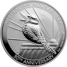 Stříbrná investiční mince Kookaburra Ledňáček 1 Oz