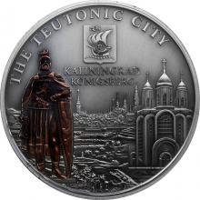 Stříbrná mince Kaliningrad 2010 Štandard Cook Islands