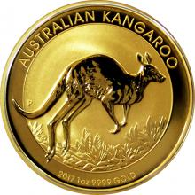 Zlatá investiční mince Kangaroo Klokan 1 Oz