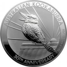 Stříbrná investiční mince Kookaburra Ledňáček 1 Kg