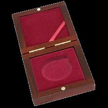 Dřevěná krabička 1 x Au ČR 45 mm