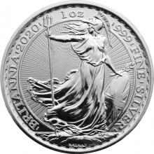 Strieborná investičná minca Britannia 1 Oz