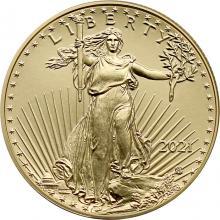 Zlatá investiční mince American Eagle 1/2 Oz