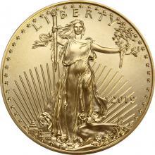 Zlatá investičná minca American Eagle 1/2 Oz