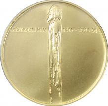 Zlatá minca 10000 Kč Jan Hus 1oz 2015 Štandard