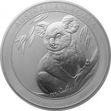Strieborná investičná minca Koala 1Kg