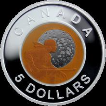 Stříbrná mince Hunter´s Moon Niob 2011 Proof