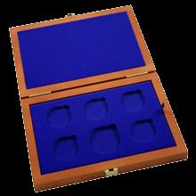 Drevenná krabička 5 x Ag ČR 36 mm plus 1 x 45 mm
