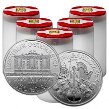 Stříbrná investiční mince Wiener Philharmoniker 1 Oz (Odběr nad 100 Ks)