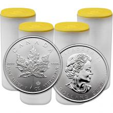 Stříbrná investiční mince Maple Leaf 1 Oz (Odběr nad 100 Ks)