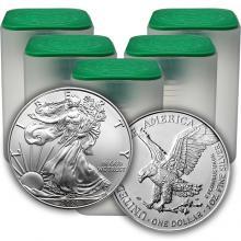 Stříbrná investiční mince American Eagle 1 Oz (Odběr 100 Ks a více)