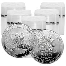 Stříbrná investiční mince Noemova archa Arménie 1 Oz (Odběr 100 Ks a více)