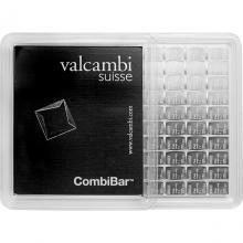 100 x 1g Combi Bar Valcambi SA Švýcarsko Investiční stříbrný slitek