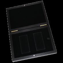 Dřevěná krabička na zlaté slitky Argor Heraeus 2 x 500 gramů