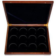 Dřevěná krabička 12 x Au Lunární série II. 2008 - 2019