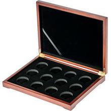 Drevenná krabička 12 x Au Lunárna séria I. 1996 - 2007
