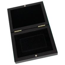 Drevenná krabička na zlaté a strieborné tehličky 1 x od 1 gramu do 100 gramov
