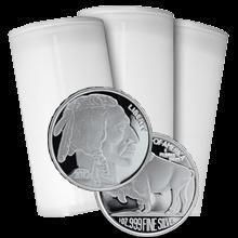 Stříbrná investiční mince American Buffalo 1 Oz - Investiční Paket 100 Kusů