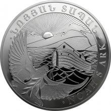 Stříbrná investiční mince Noemova archa Arménie 10 Oz