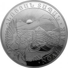 Stříbrná investiční mince Noemova archa Arménie 1 Kg