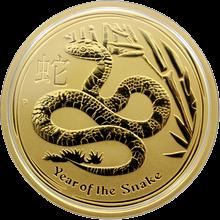 Zlatá investičná minca Year of the Snake Rok Hada Lunárny 1 Oz 2013