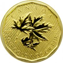 Zlatá investiční mince Million Dollar Maple Leaf 1 Oz 2012 (.99999)