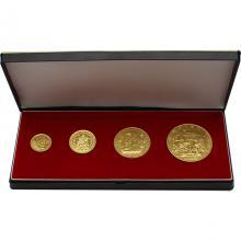 Karel IV. Československé Dukáty Sada zlatých mincí 600. výročie úmrtia 1978