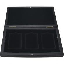 Dřevěná krabička na zlaté a stříbrné slitky 3 x od 1 gramu do 100 gramů
