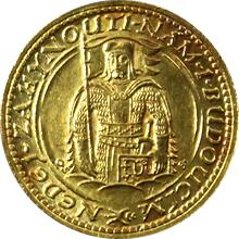 Zlatá minca Svätý Václav Jednodukát Československý 1930