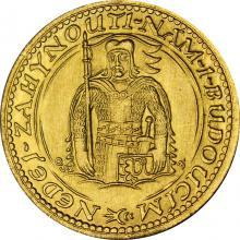 Zlatá minca Svätý Václav Jednodukát Československý 1933