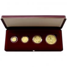Zlaté mince Sada Karel IV. 1998 Standard