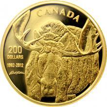 Zlatá mince 1 Oz Los 50.výročí CWF 2012 Proof
