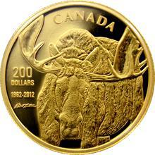 Zlatá minca 1 Oz Los 50.výročie CWF 2012 Proof