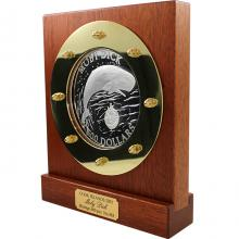 Stříbrná mince 2 Kg Moby Dick 2001 Proof
