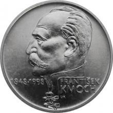 Strieborná minca 200 Kč František Kmoch 150. výročie narodenia1998 Štandard