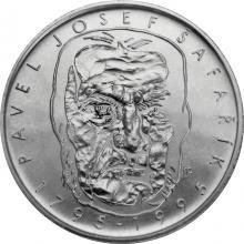 Stříbrná mince 200 Kč Pavel Josef Šafařík 200. výročí narození 1995 Standard