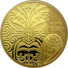 Zlatá mince 1 Oz Koru Maori Art 2013 Proof