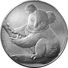 Stříbrná investiční mince Koala 1Kg 2009