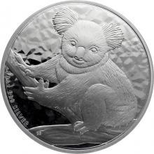 Stříbrná investiční mince Koala 10 Oz 2009