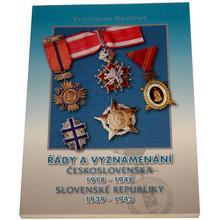 Řády a vyznamenání ČSR 1918 - 1948 a SR 1939 - 1945