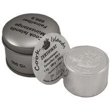 Stříbrná investiční mince Bounty Cook Islands 2012 Cylindr 500g