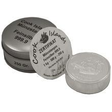Stříbrná investiční mince Bounty Cook Islands 2012 Cylindr 250g