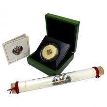Zlatá mince 5 Oz 400 let dynastie Romanovců 2013 Proof