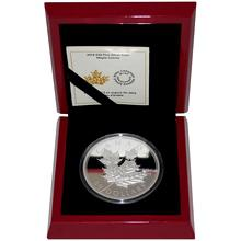Stříbrná mince 5 Oz Maple Leaves 2014 High Relief Proof (.9999)