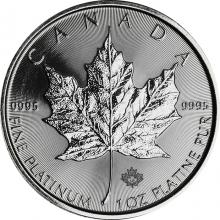 Platinová investičná minca Maple Leaf 1 Oz