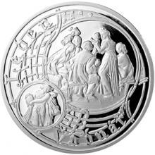 Stříbrná medaile Staroměstský orloj - Vodnář 2014 Proof