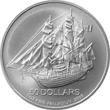 Platinová investičná minca Bounty Cook Islands 1 Oz