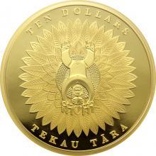 Zlatá mince Papatuanuku a Ranginui Maori Art 1 Oz 2014 Proof