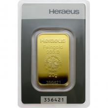 20g Heraeus Německo Investiční zlatý slitek