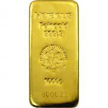 1000g Heraeus Německo Investiční zlatý slitek
